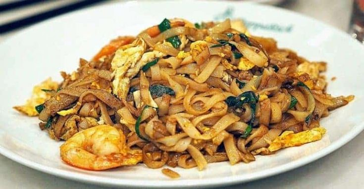 Malaysian Char Kway Teow - A Hawkers Delight