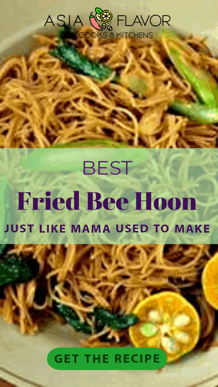 Fried Bee Hoon - A Makan Delight