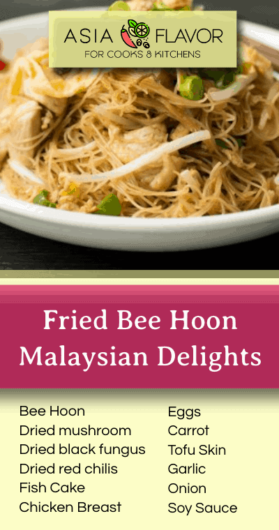 This Makan Fried Bee Hoon is a simple, and totally delicious Malaysian breakfast. If you find yourself in the fantastic Kuala Lumpur, the side streets of Penang or in a town in Sarawak, wherever you may find yourself in Peninsula Malaysia or Borneo you will find this dish. And you absolutely must try this divine dish!